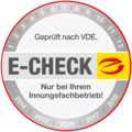 E-Check bei Muster Elektro in Musterstadt